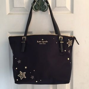NWOT Kate Spade Nylon Star Bag